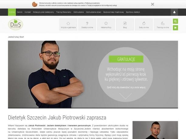 Dietetyk w Szczecinie Jakub Piotrowski