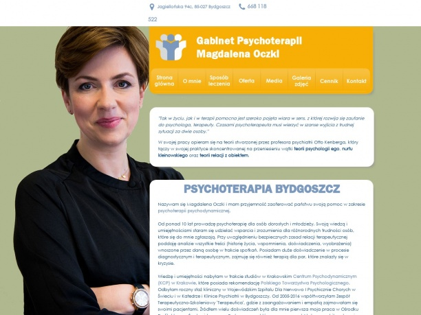 Gabinet Psychoterapii Magdalena Oczki