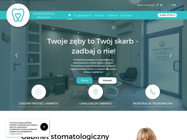 Gabinet stomatologiczny Katarzyna Bińczycka