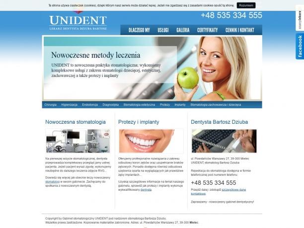 Gabinet stomatologiczny UNIDENT