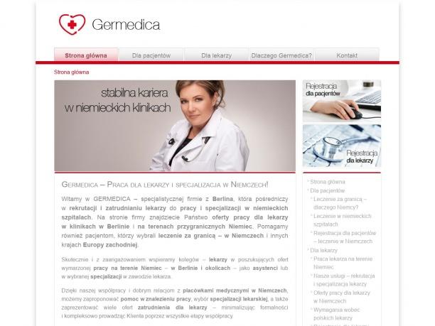 GERMEDICA Oferty pracy dla lekarzy za granicą w Niemczech