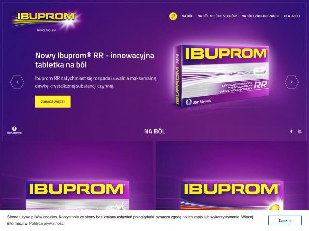 Ibuprom lek na ból