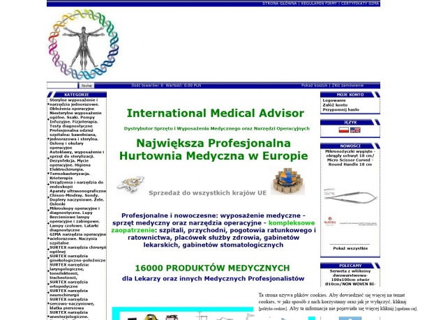 INTERNATIONAL MEDICAL ADVISOR