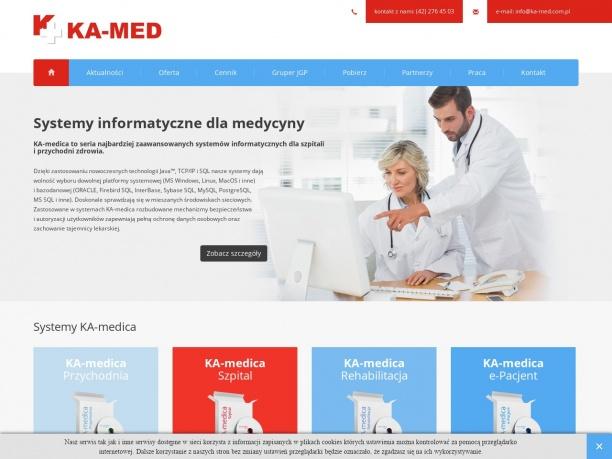 KA MED Oprogramowanie medyczne