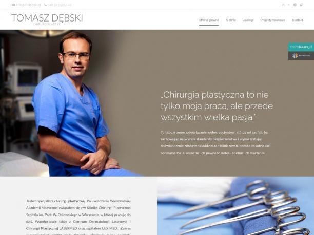 Klinika Chirurgii Plastycznej Dr T Dębski LASERMED