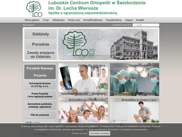 Lubuski Ośrodek Rehabilitacyjno Ortopedyczny w Świebodzinie