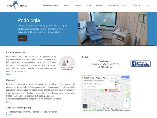 medycyna dla stóp Podolog Warszawa