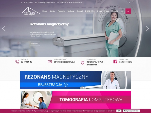 Niepubliczny Zakład Opieki Zdrowotnej NZOZ Primus