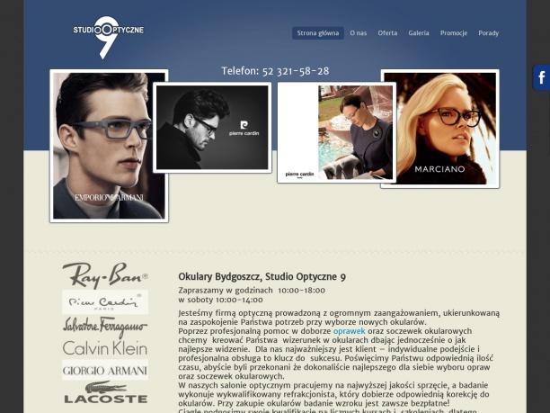 Optyk okulary i oprawki w Bydgoszczy