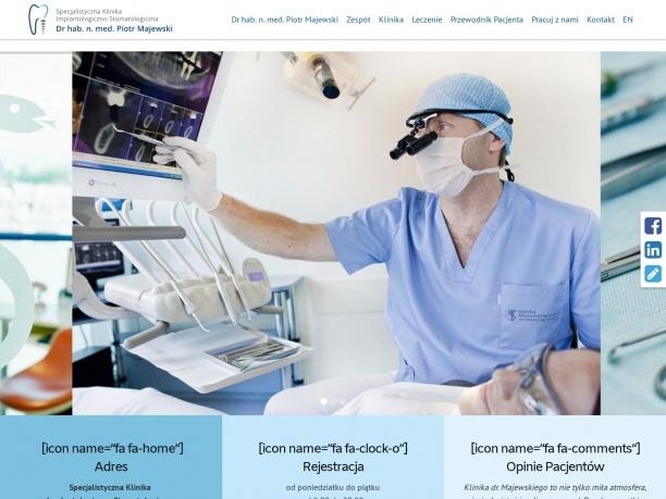 Piotr Majewski Klinika Implantologiczno Stomatologiczna