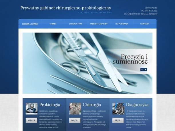 Prywatny Specjalistyczny Gabinet Chirurgiczno Proktologiczny Zbigniew Małek