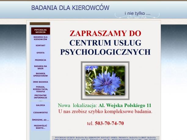 PSYCHOTESTY CENTRUM USŁUG PSYCHOLOGICZNYCH