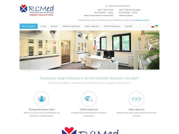 RCMED Rzeszowskie Centrum Medyczne gabinet okulistyczny