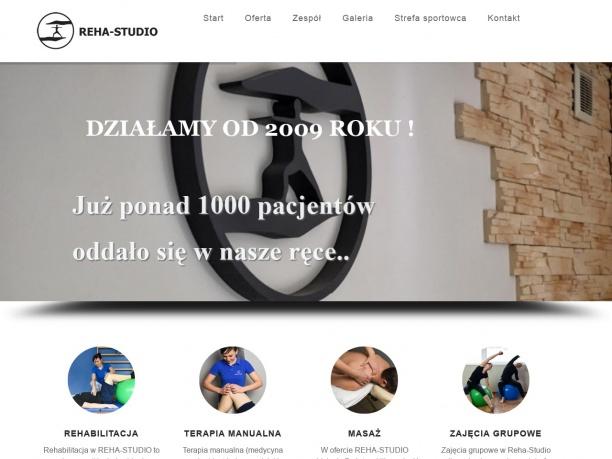 REHA STUDIO gabinet terapii ruchowej fizykoterapii i masażu