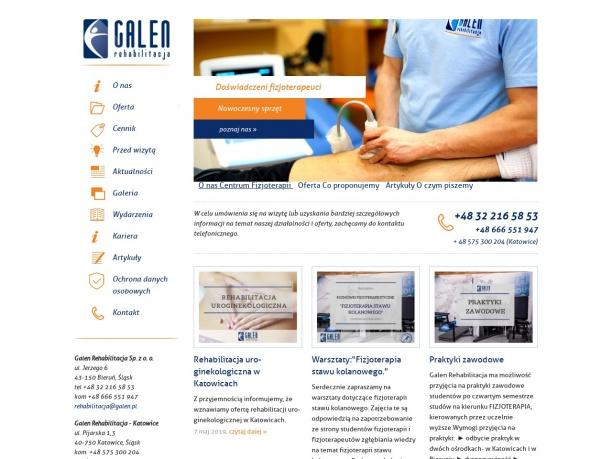 Rehabilitacja Galen Katowice