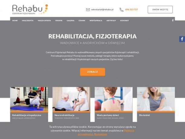 Rehabu Centrum fizjoterapii i terapii wad postawy