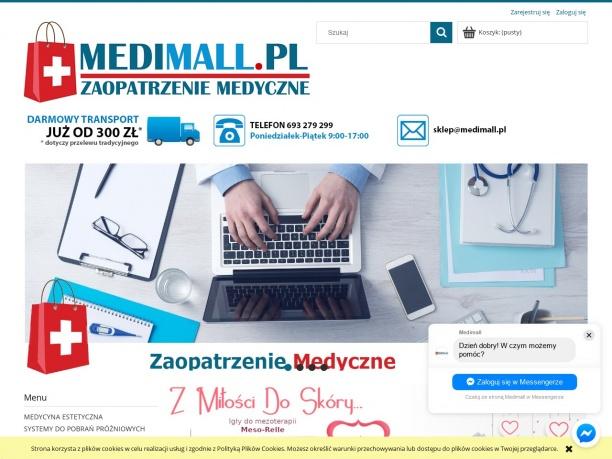 Sklep medyczny Medimall