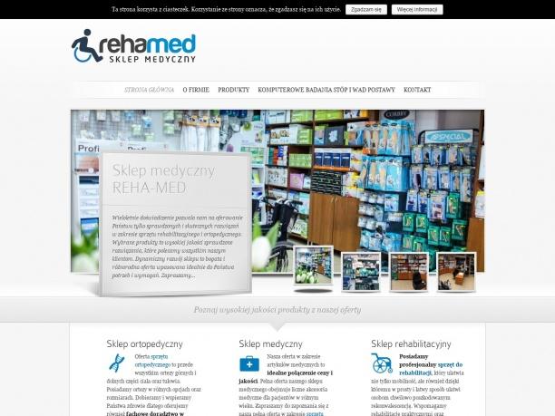 Sklep Ortopedyczno Rehabilitacyjny REHA MED