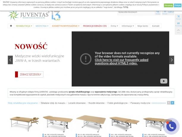 Sprzęt rehabilitacyjny Juventas pl