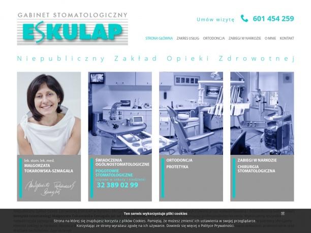 stomatolog bytom Małgorzata Tokarowska Szmagała