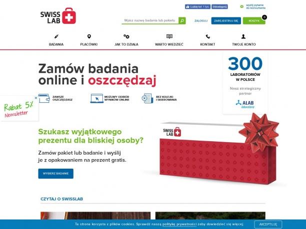Swisslab badanie krwi w całej Polsce