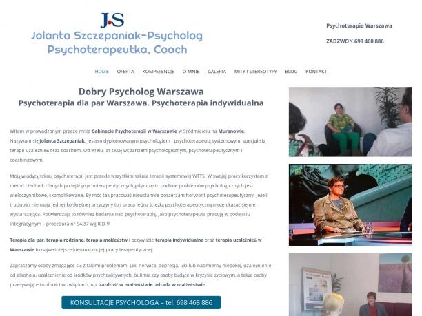Terapia par i terapia rodzin Warszawa