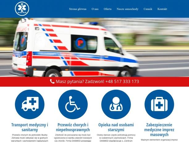 Transport Sanitarny Chorych i Niepełnosprawnych Łódź