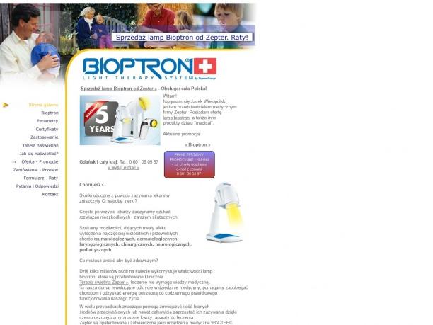 Unikalne leczenie światłem Bioptron