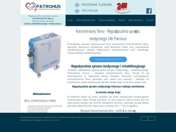 Wypożyczalnia sprzętu medycznego 24h