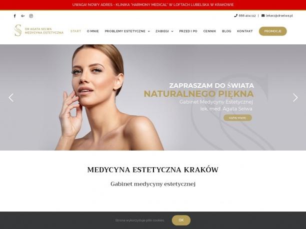 Medycyna estetyczna Kraków – dr Agata Selwa