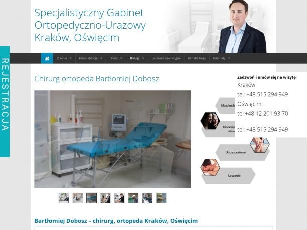 Gabinet Ortopedyczno-Urazowy BARTŁOMIEJ DOBOSZ