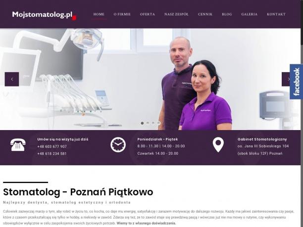 Mój Stomatolog – Dentysta Sebastian Wolny